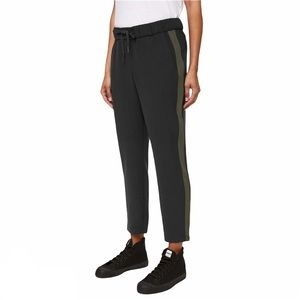 Lululemon On The Fly 7/8 Pant Woven Track Stripe 6